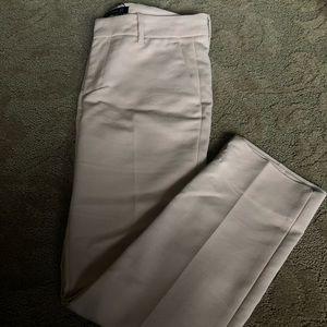 Zara Pants- High Rise Pale Pink Trousers